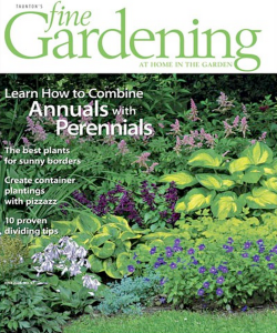 Cover story and photo, Fine Gardening magazine, 2004