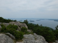 From the summit of Champlain Mt.
